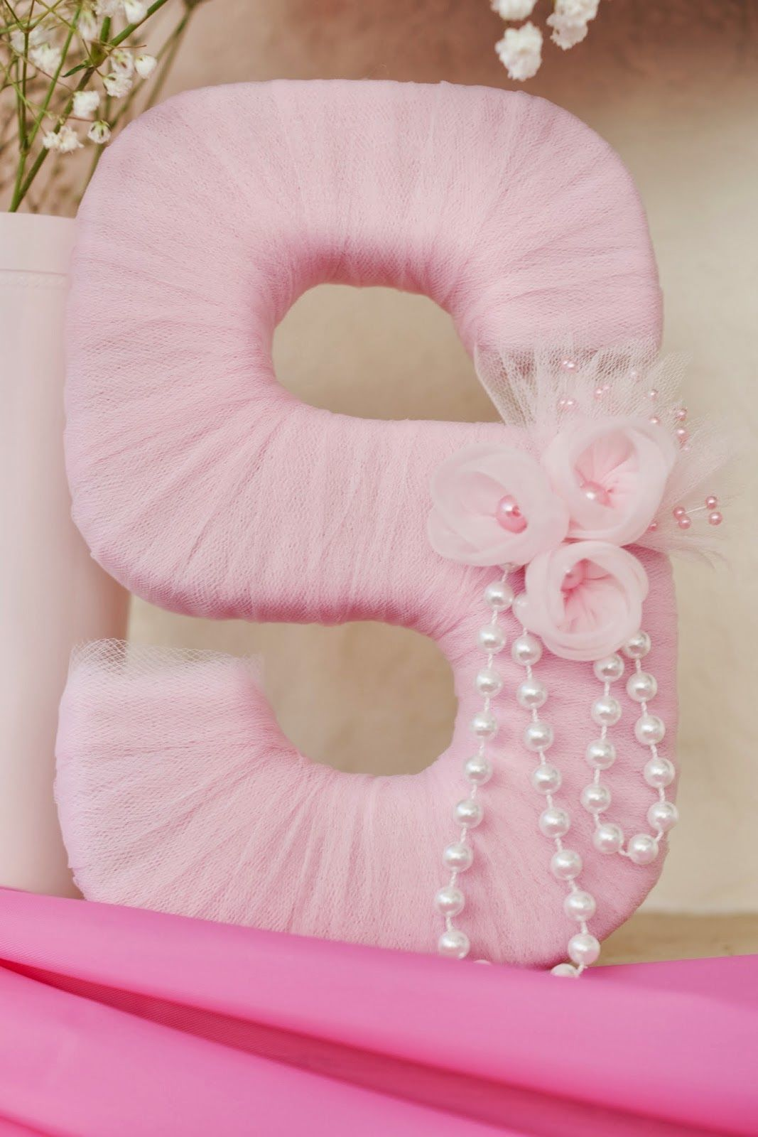 tulle letter for baby shower pictures photos and images for facebook