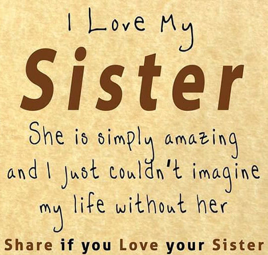 Love My Sister Quotes Inspiration I Love My Sister Pictures Photos And Images For Facebook Tumblr