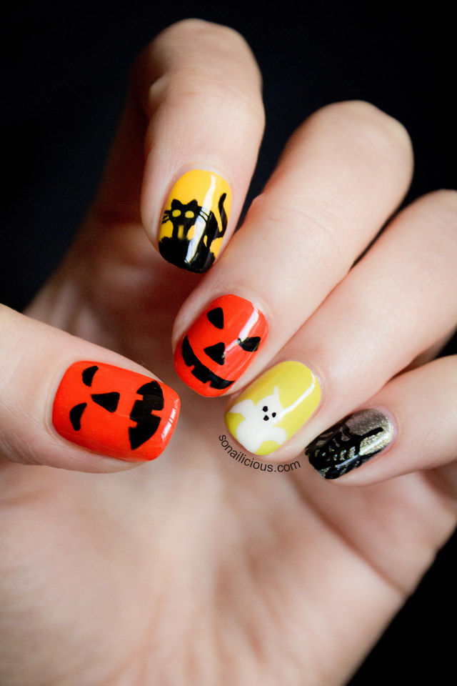 Halloween Fun Art Nails Pictures, Photos, and Images for Facebook ...