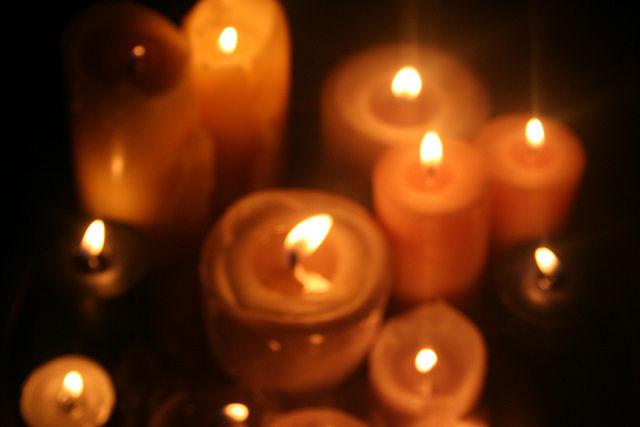 orange halloween candles - Halloween Candles