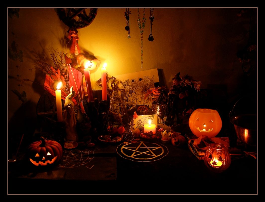 Halloween Home Ritual Decor Pictures, Photos, and Images for ...