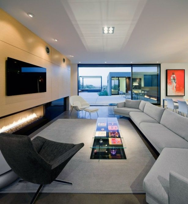 Interior Design Ideas For Wall Mounted Tv
