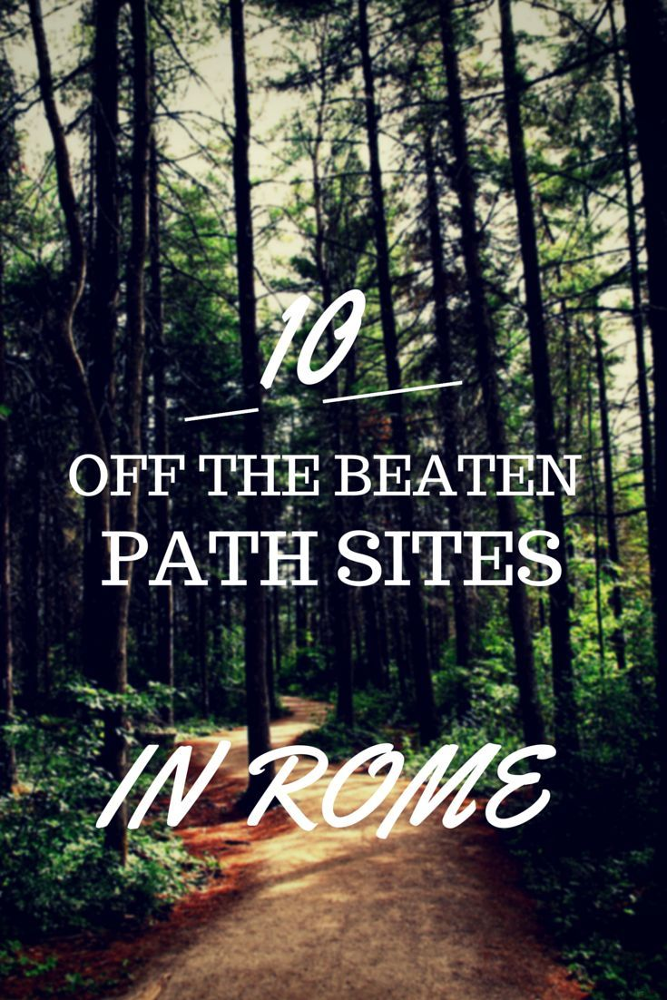 10 Off The Beaten Path Sites In Rome Pictures, Photos, and ...