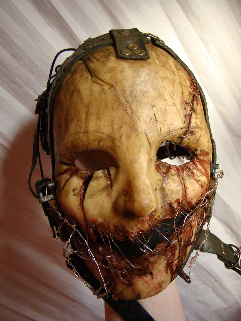 Wired Scarred Mask Pictures, Photos, And Images For