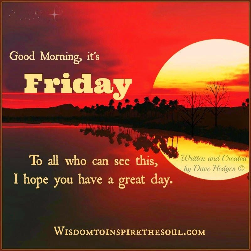 Good Morning It's Friday Pictures, Photos, and Images for Facebook ...
