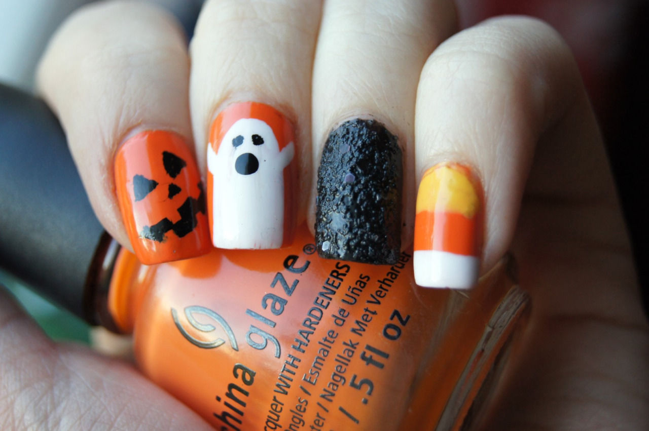 Mixed Halloween Nails Pictures, Photos, and Images for ...