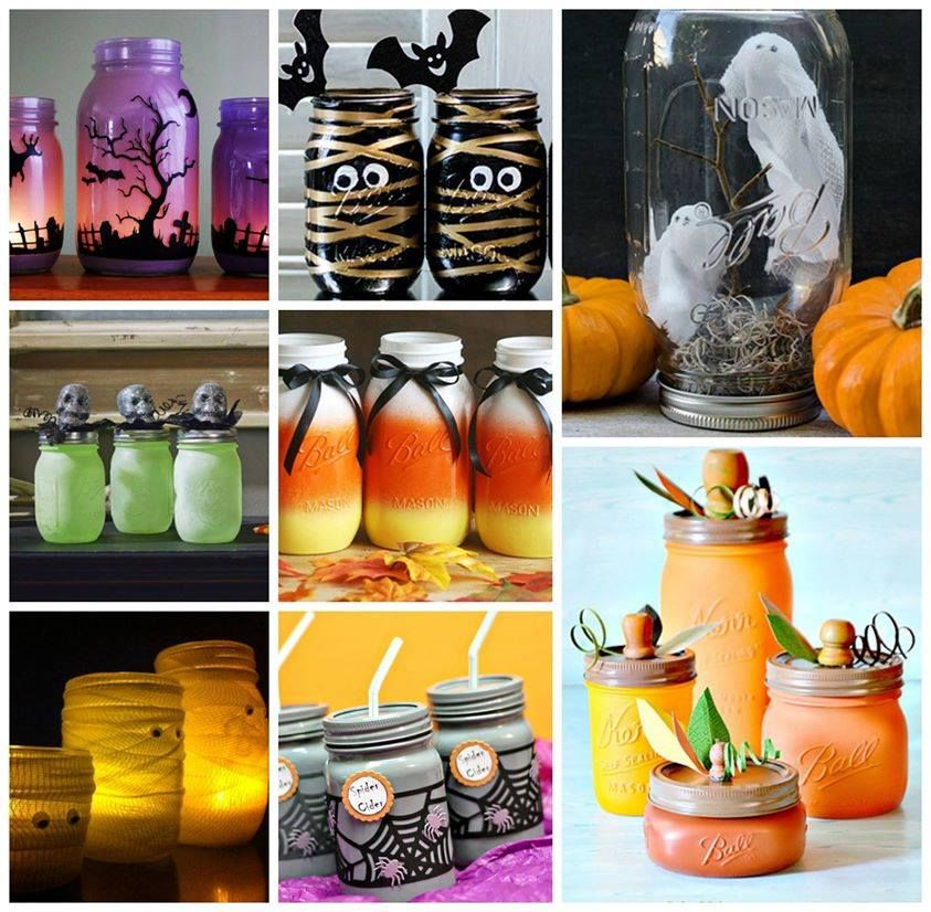 Halloween Mason Jar Ideas Pictures Photos And Images For Facebook Tumblr Pinterest And Twitter