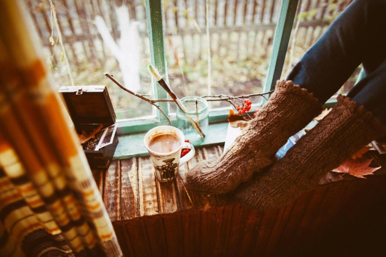 wool socks and hot chocolate pictures  photos  and images