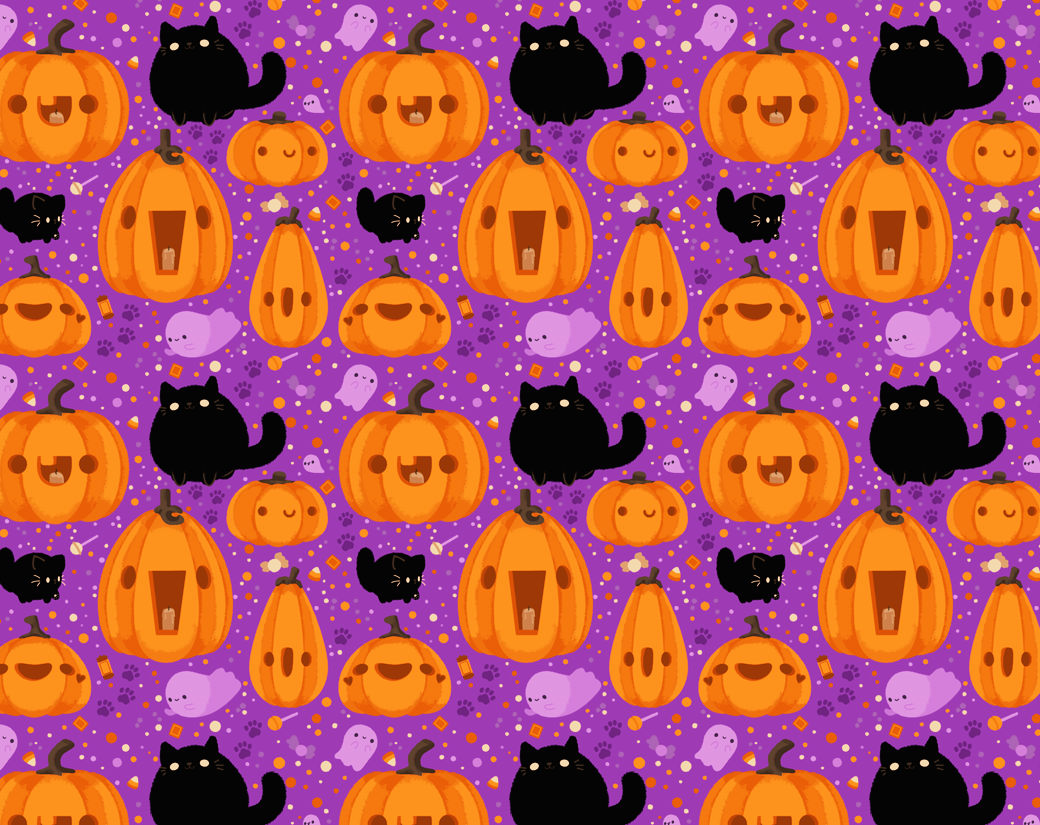 Halloween Print Pattern Pictures, Photos, and Images for Facebook ...