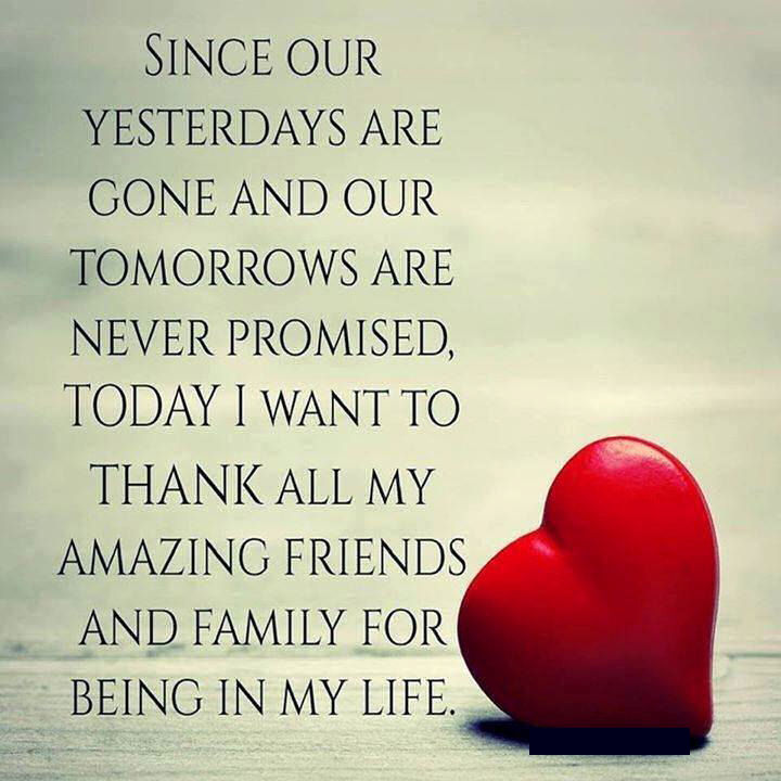 Thanks For All Your Efforts Quotes: Thank You To All My Friends And Family Pictures, Photos
