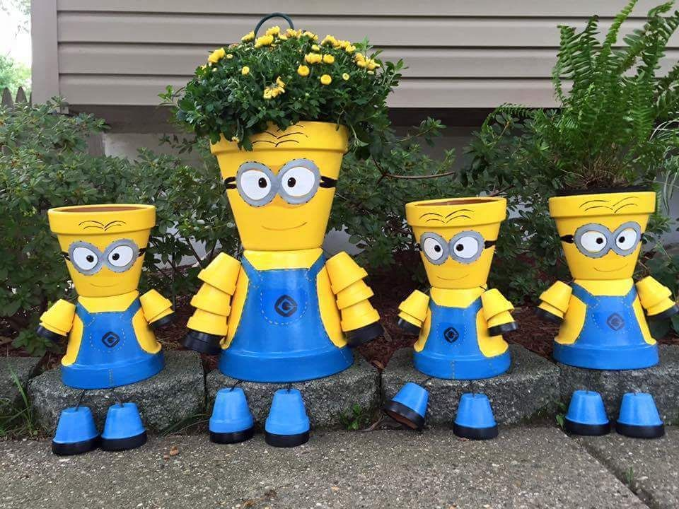 Minion clay pot people pictures photos and images for facebook tumblr pinterest and twitter - Decoratie slaapkamer volwassen fotos ...