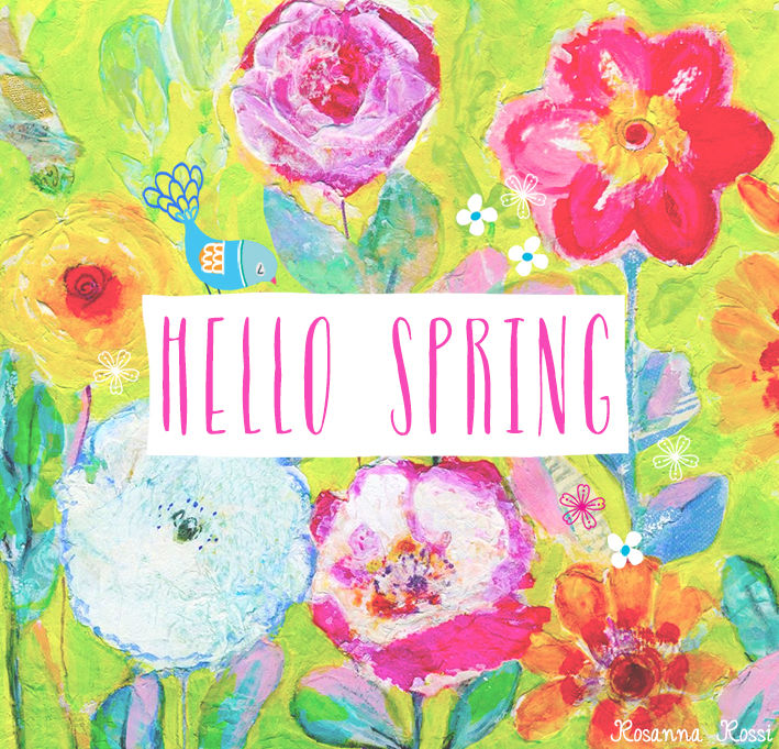 Colorful Hello Spring Quote Pictures, Photos, And Images For Facebook,  Tumblr.