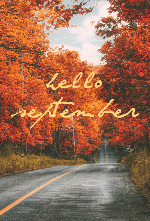 beautiful hello september quote pictures photos and