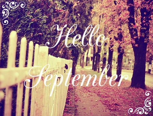 Hello September Autumn Sidewalk Pictures, Photos, and ...
