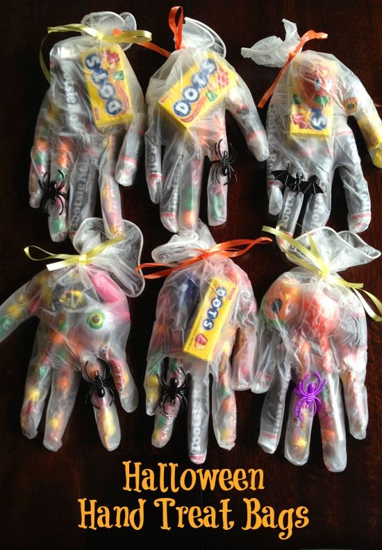 Hand-Shaped Treat Bags Pictures, Photos, and Images for ...