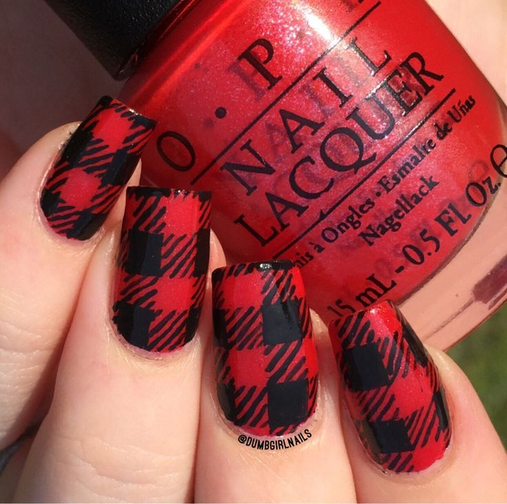 Plaid Nails Pictures Photos And Images For Facebook