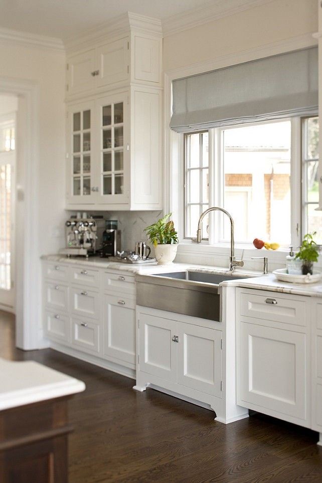 All White Neutral Kitchen Pictures, Photos, and Images for ...