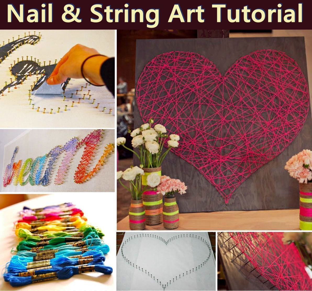 Nail And String Art Tutorial Pictures Photos And Images For