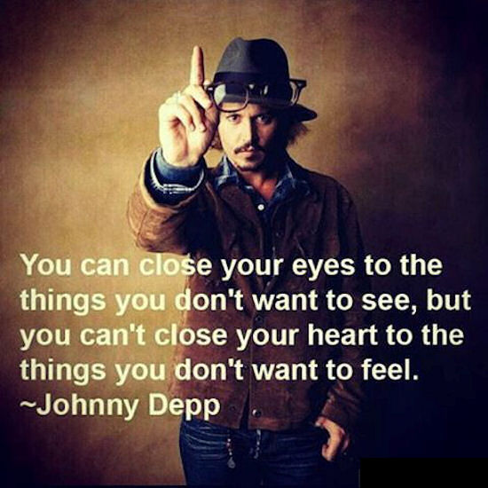 Johnny Depp Quotes On Love Johnny Depp Quote Pictures, Photos, and Images for Facebook  Johnny Depp Quotes On Love
