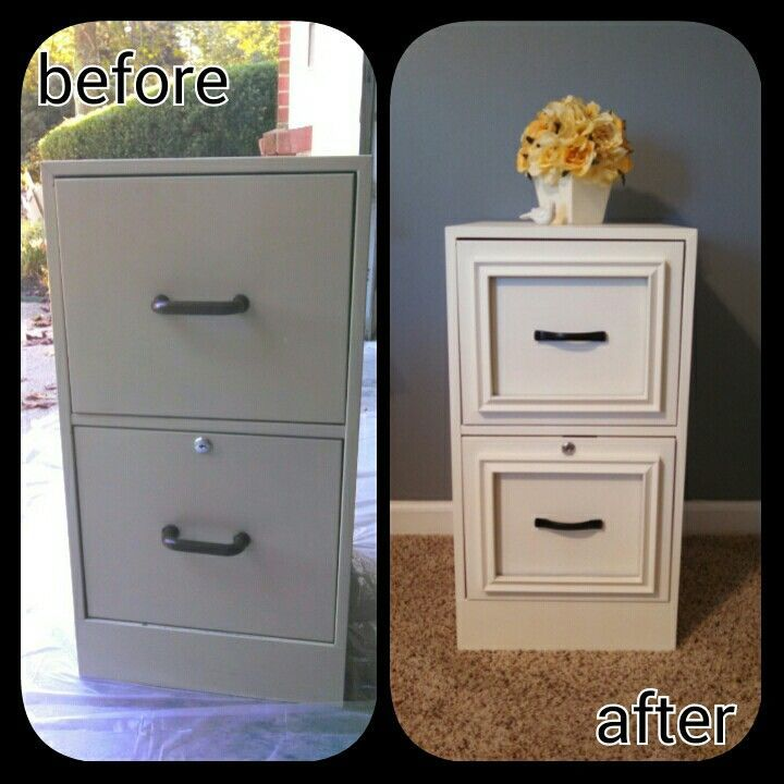 Filing Cabinet Makeover Pictures, Photos, and Images for