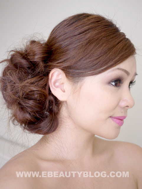 Bridal Messy Side Bun Hair Tutorial Pictures Photos And Images For