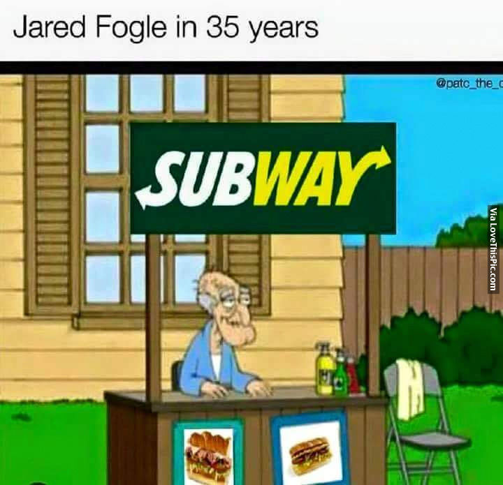 Jared Fogle In 35 Years Pictures Photos And Images For