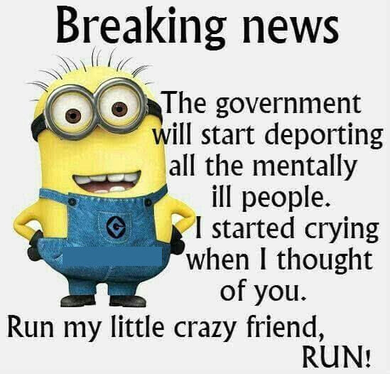 Minion Breaking News Funny Quote Pictures, Photos, and ...