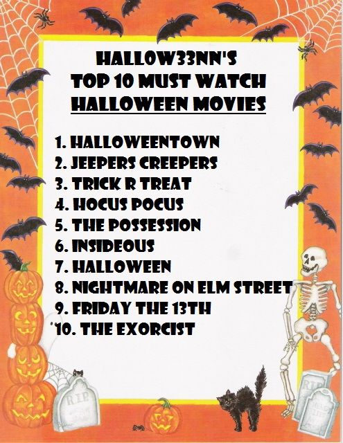 Top 10 Must Watch Halloween Movies Pictures, Photos, and Images ...