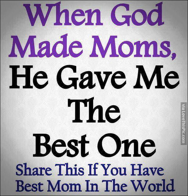 my mother is the best mother in the world