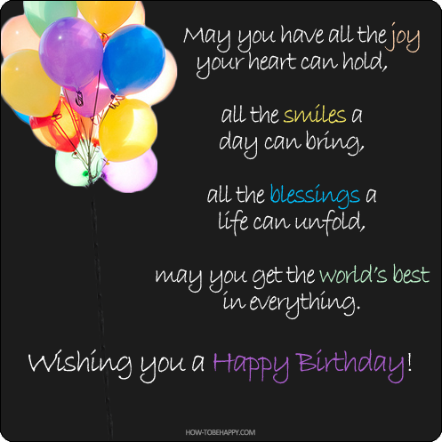 Wishing You A Happy Birthday Pictures Photos And Images Happy Birthday Wishing You Happiness
