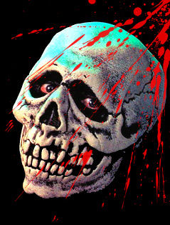 bloody skull wallpaper related - photo #29