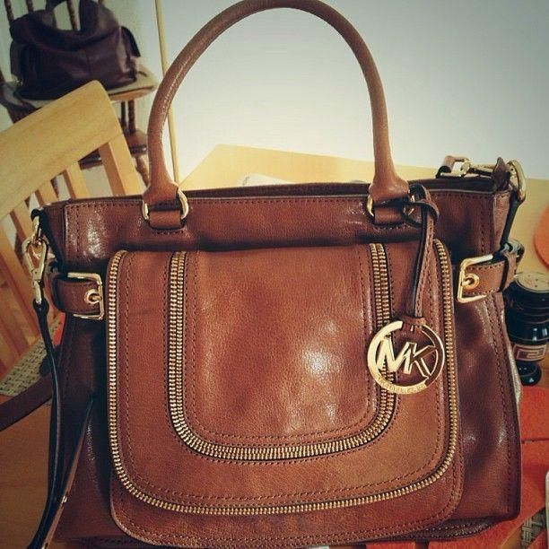 7060d4c98039 Brown Leather Michael Kors Bag Pictures, Photos, and Images for ...