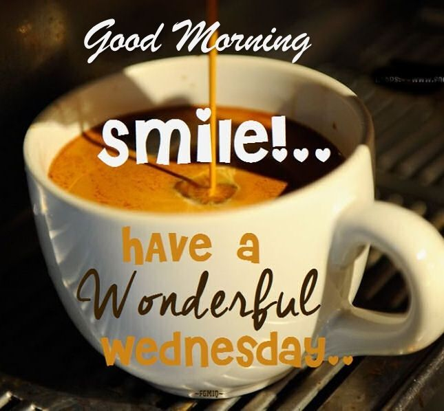 Good Morning Wednesday Images : Good morning smile have a wonderful wednesday pictures