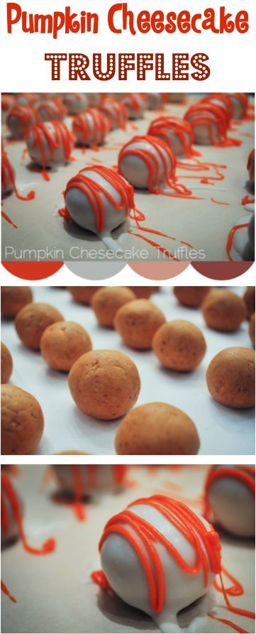 Pumpkin Cheesecake Truffles Pictures, Photos, and Images for Facebook ...