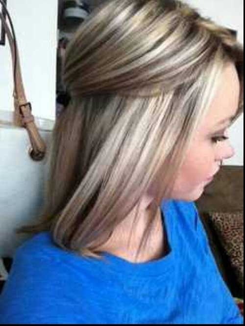 Blonde Hair With Lowlights To Blend Roots Pictures Photos