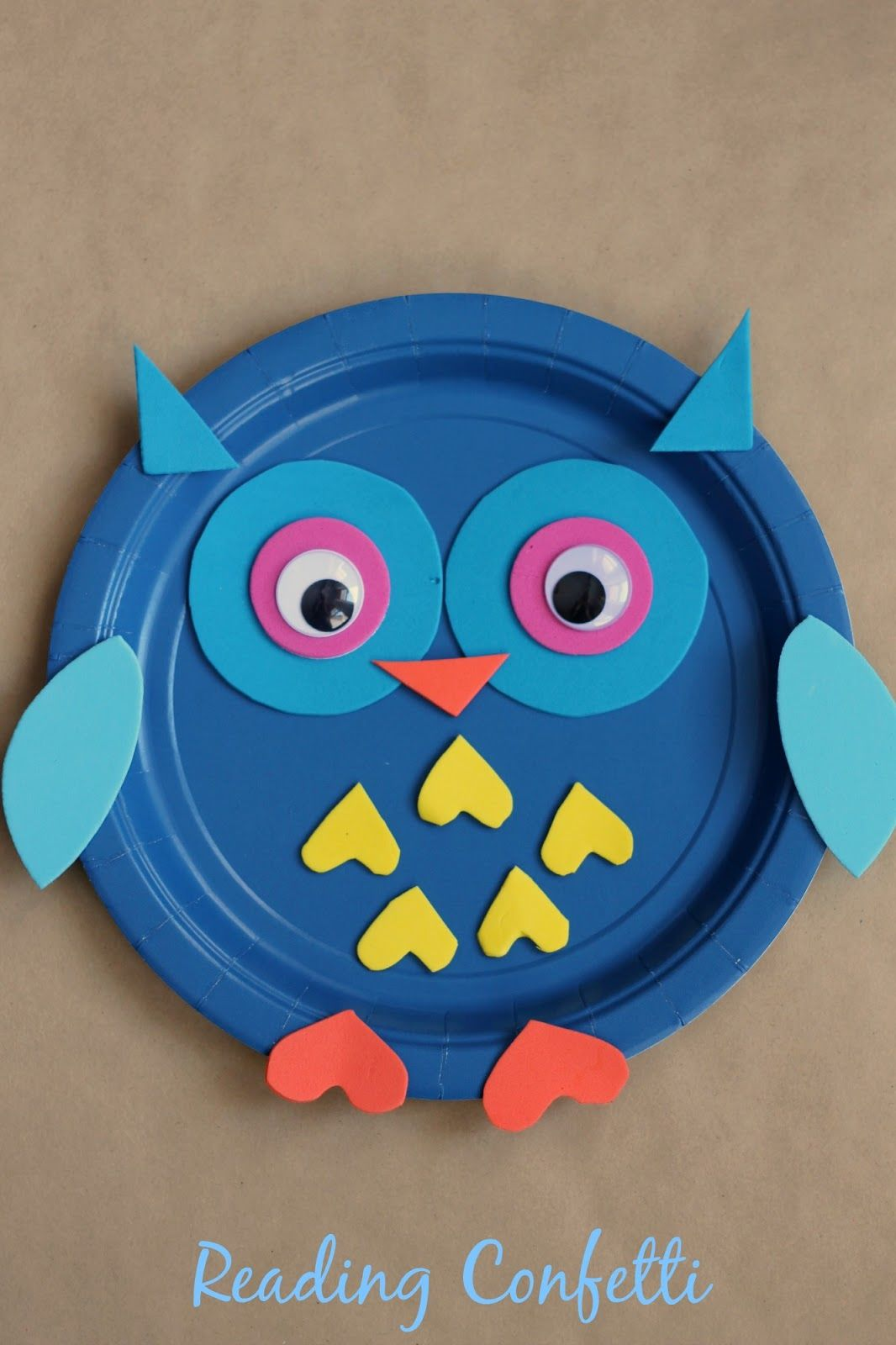 Paper Plate Owl Craft & Paper Plate Owl Craft Pictures Photos and Images for Facebook ...