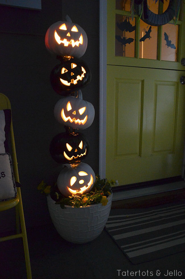 Black and white halloween topiary pictures photos and - Halloween black and white ...
