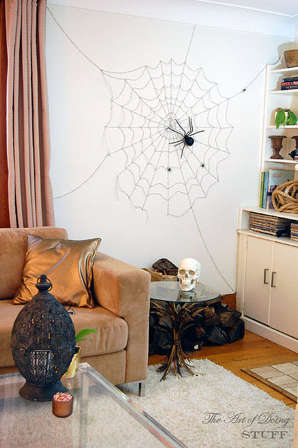 Spider Web Wall Decoration Pictures Photos And Images For Facebook Tumblr Pinterest Twitter