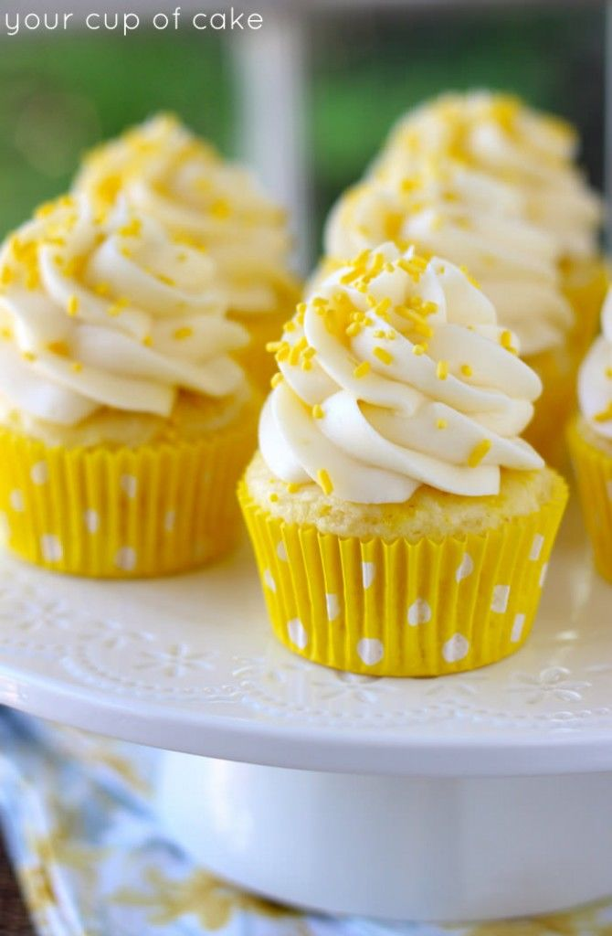 Lemon Cream Cheese Cupcakes Pictures, Photos, and Images for Facebook ...