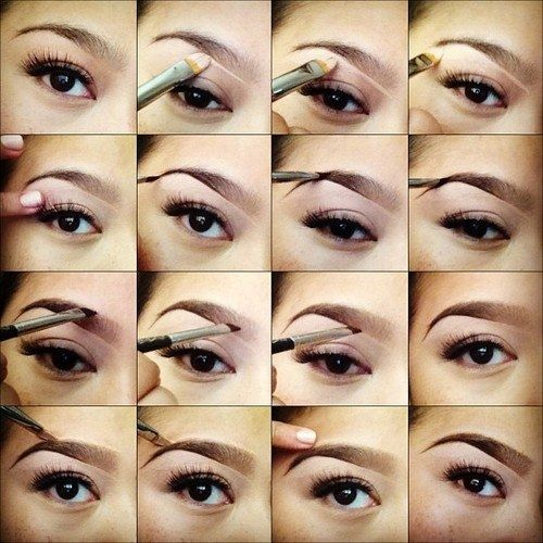 Eyebrow shaping tutorials to get your brows on fleek at home.