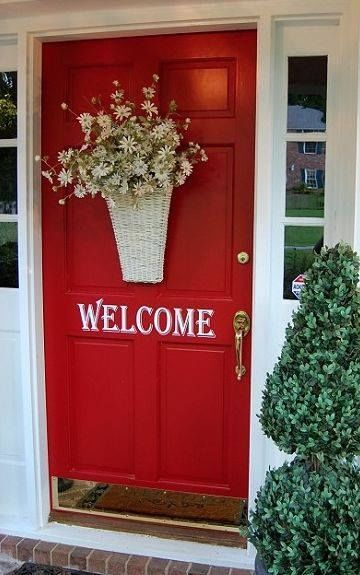 Welcoming Red Door Pictures Photos And Images For
