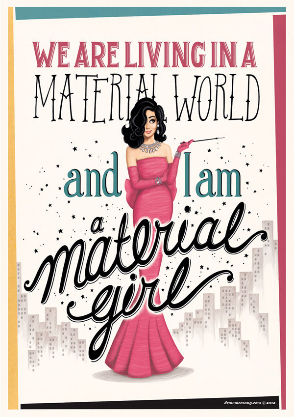 Material Girl Pictures, Photos, and Images for Facebook, Tumblr