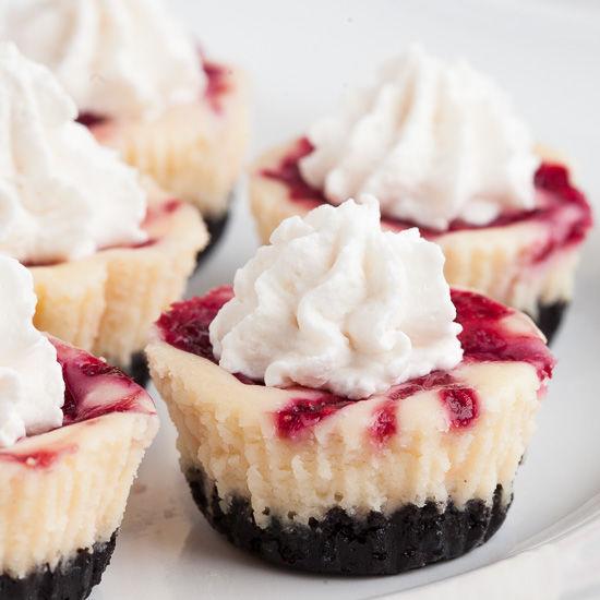 Healthier White Chocolate Raspberry Cheesecake Recipe — Dishmaps