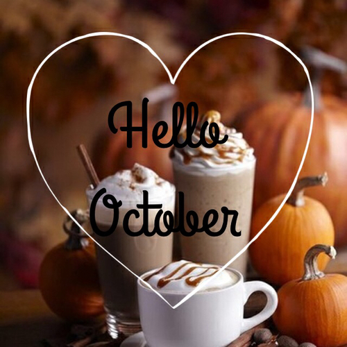 Image result for images of hello october
