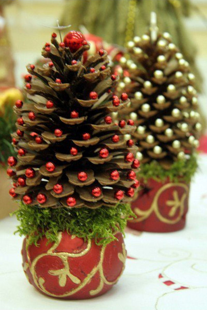 Pine Cone Christmas Trees Pictures, Photos, and Images for ...