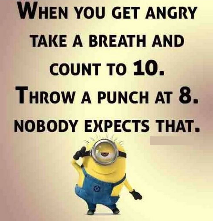 Funny Minion Quote About Anger Pictures Photos And Images For Facebook Tumblr Pinterest And Twitter