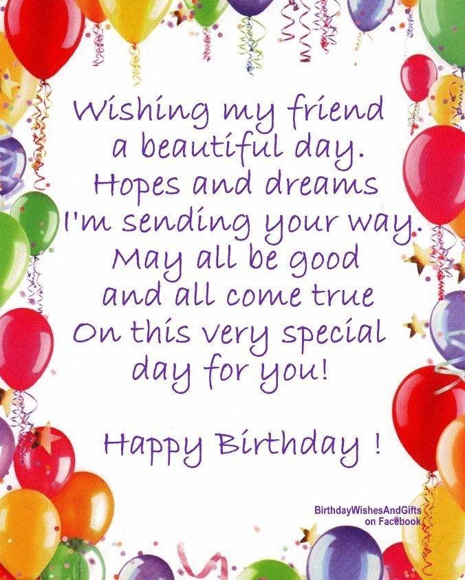 Wishing My Friend A Beautiful Birthday Pictures, Photos, And Images For Facebook, Tumblr