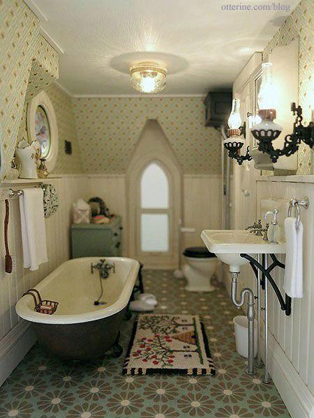 Mini Vintage Farmhouse Bathroom s and for Tu