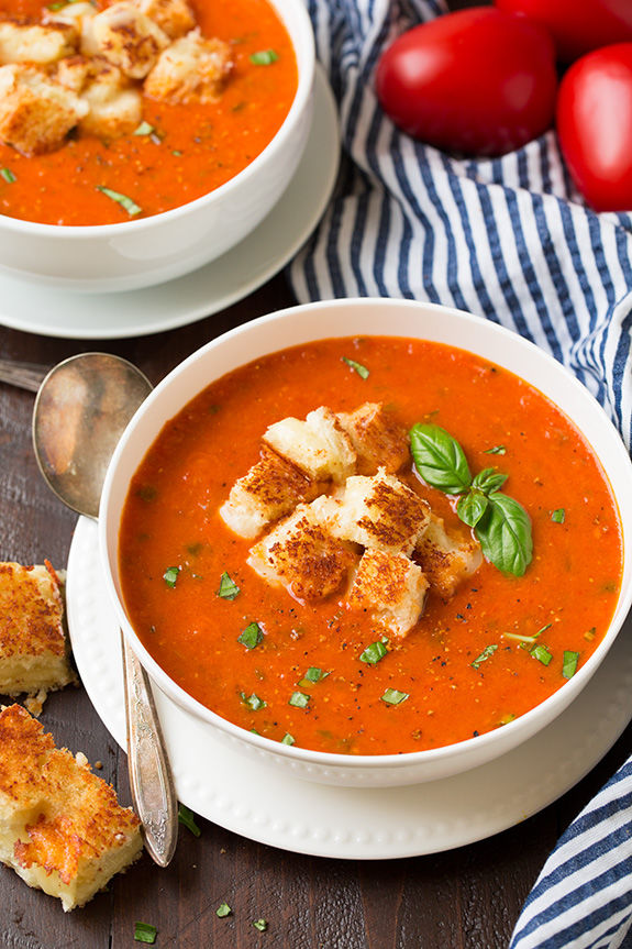 Roasted Tomato Basil Soup Pictures, Photos, and Images for Facebook ...