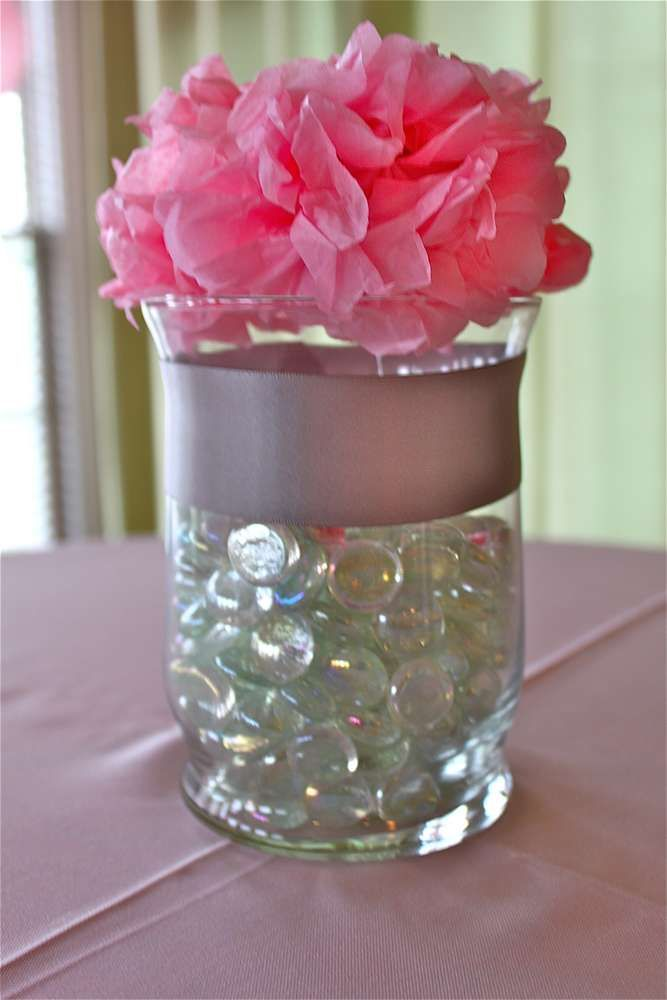 Diy Center Table Decor Jar Centerpieces